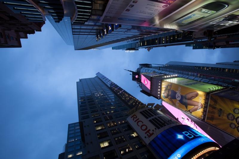 Wolkenkratzer-abend_New-York-City