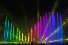 Licht-Wasser-Spiele - Regenbogen