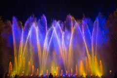 Licht-Wasser-Spiele - Gelb Blau