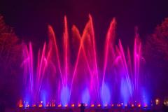 Licht-Wasser-Spiele - Rot