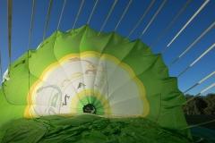 In einem Heißluftballon in Bonn