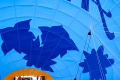 In einem Heißluftballon in Arosa