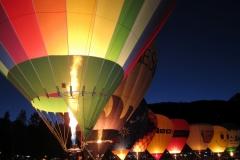Heißluftballone in Arosa
