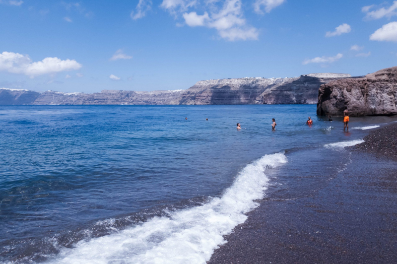 Strand auf Santorini