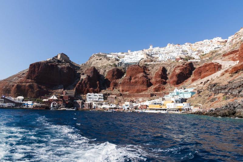 Ammoudi unterhalb von Oia