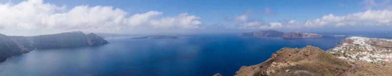 Caldera von Santorini
