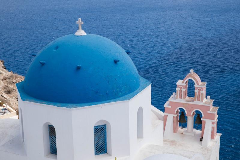 Kapelle auf Santorini