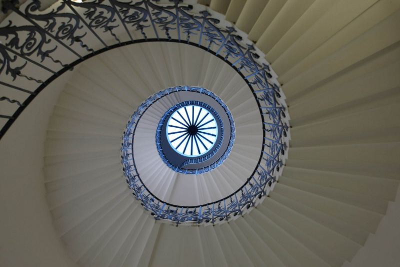 The Tulip Stairs - Queen's House, London