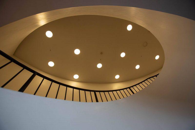 Treppe in der Elbphilharmonie in Hamburg