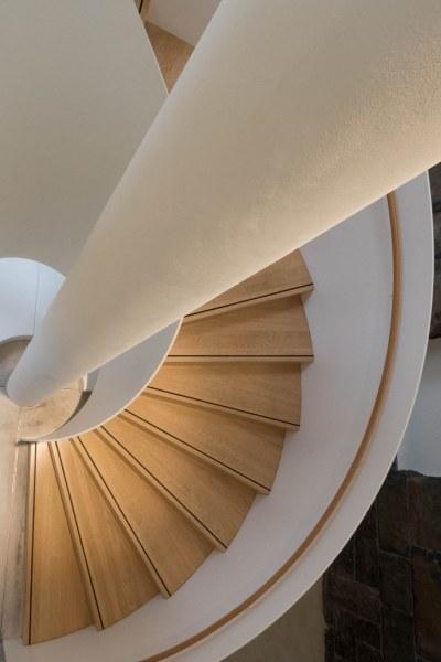 Treppe in der Kirchlichen Hochschule in Wuppertal