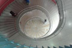 Wendeltreppe im Einkaufszentrum in Konstanz