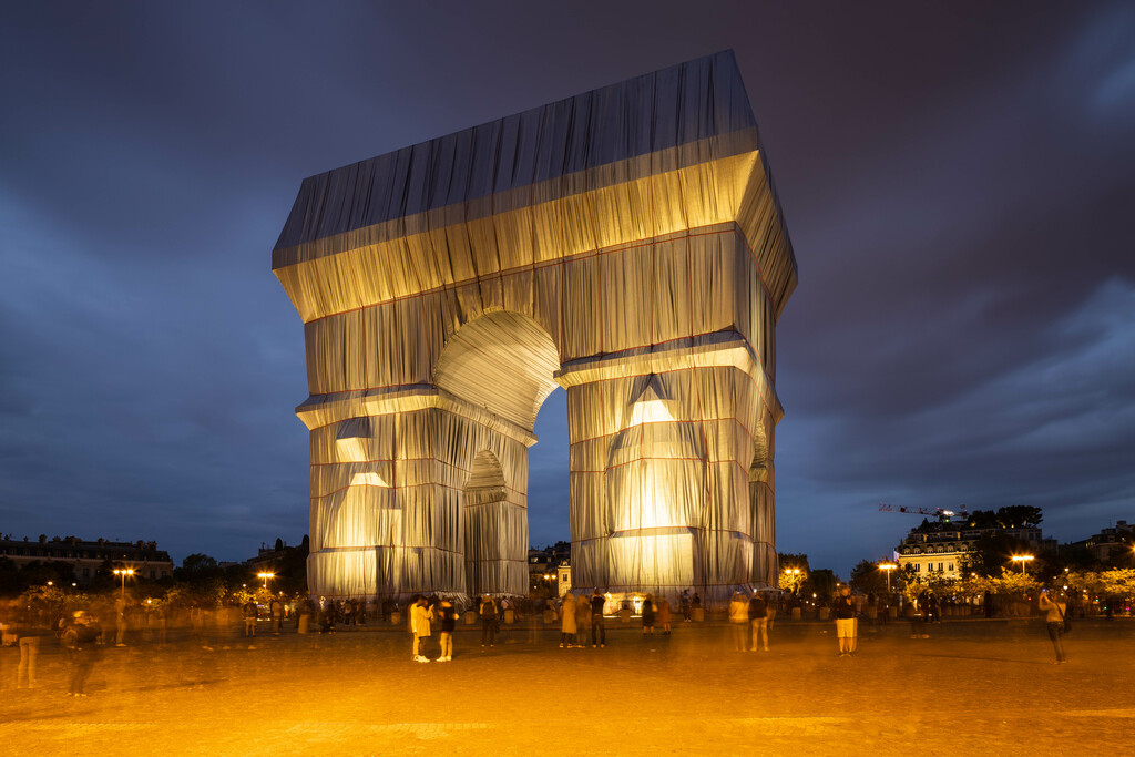 Arc de Triomphe - verhüllt